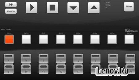 Electrum Drum Machine / Sampler (обновлено v 4.8.4)