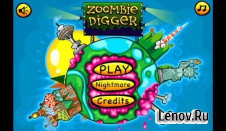 Zoombie Digger v 1.1.7 + Mod (Unlimited Money)