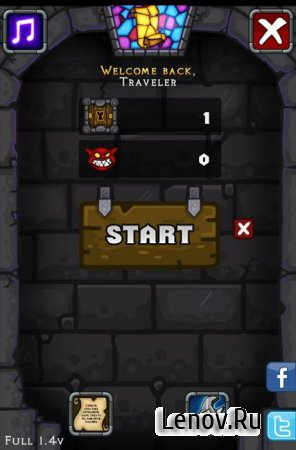Dungelot (обновлено v 1.55) Mod (Unlimited Coins)