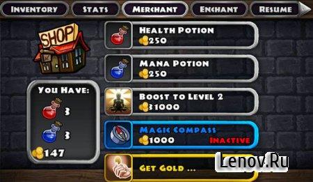 Dungeon Quest (Город и боец) v 3.0.5.3 Мод (Бесконечное золото)
