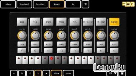 RD4 HD - Groovebox (обновлено v 2.1.1)