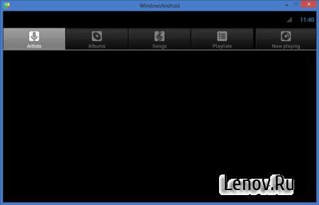 WindowsAndroid v 4.0.3 (Android 4.0 на нашем компьютере)