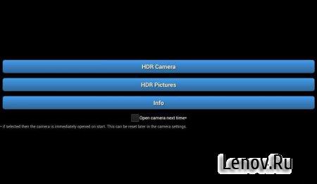 HDR Pro Camera v 1.06