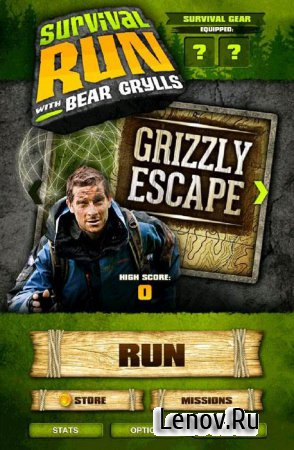 Survival Run with Bear Grylls (обновлено v 1.5) (Mod Money)
