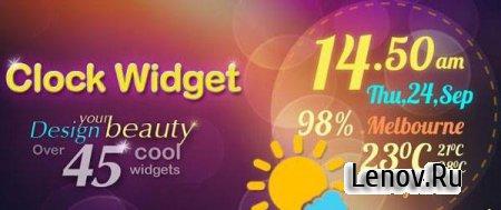 Beautiful Clock Widget Pro (обновлено v 2.0)