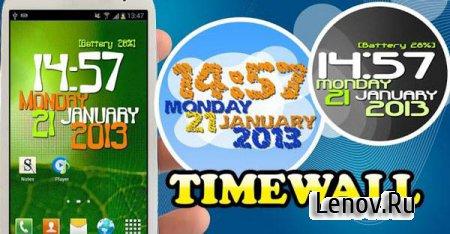 Timewall - Clock Wallpaper (обновлено v 2.0.0)