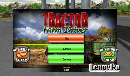 Tractor: Farm Driver - Gold v 1.0