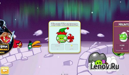 Angry Birds Season: On Finn Ice! (обновлено v 5.1.0) Mod (Unlimited Items)