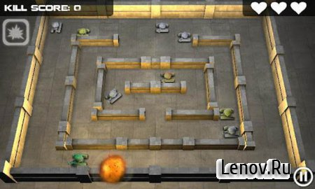 Tank Hero 3D v 1.5.11 Mod (Unkocked & Unlimited Ammo)