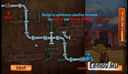 Slumdog Plumber & Pipes Puzzle v 1.1.0