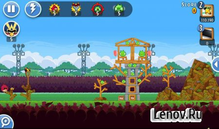 Angry Birds Friends v 9.5.1 Мод (много денег)