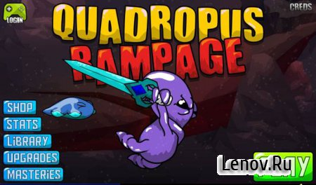 Quadropus Rampage v 100.0.19 Мод (много денег)