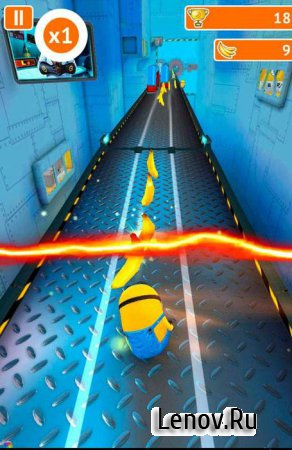 Гадкий Я (Despicable Me: Minion Rush) v 6.9.0e Мод (Free Purchase/Anti-ban)