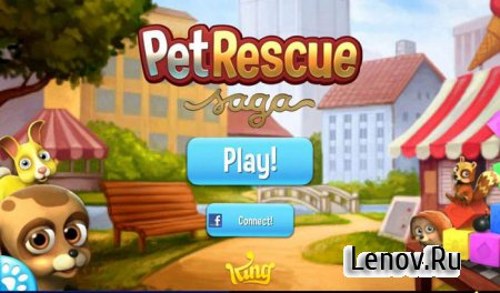Pet Rescue Saga v 1.248.12 Mod (Infinite lives/boosters)