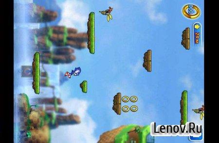 Sonic Jump (обновлено v 2.0.3) Мод (много колец)