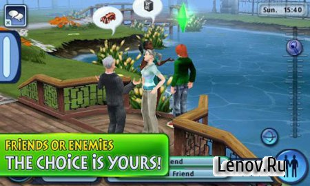 The Sims 3 HD v 1.6.11 Мод (много денег)