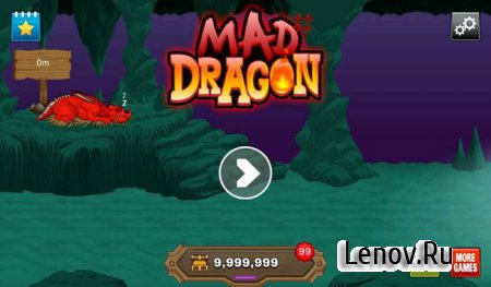 Mad Dragon v 1.0 (Unlimited Gold)