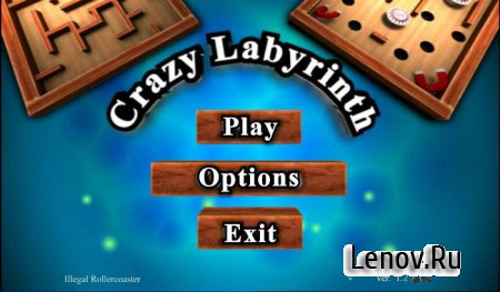 Crazy Labyrinth 3D v 1.16 (G-sensor)