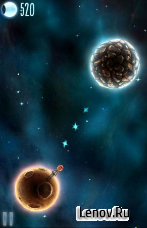 Little Galaxy - Infinity space gravity game v 2.5.9 Мод (много камней)