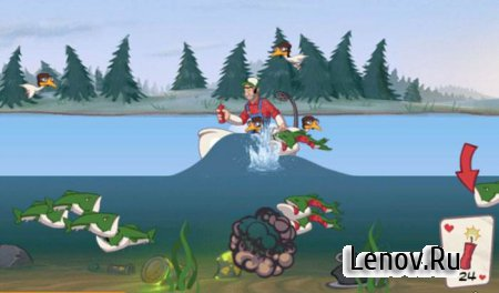 Super Dynamite Fishing Premium v 1.2.5 Мод (много денег)