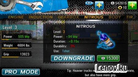 Drag Racing 4x4 (обновлено v 1.0.150) Мод (много денег)