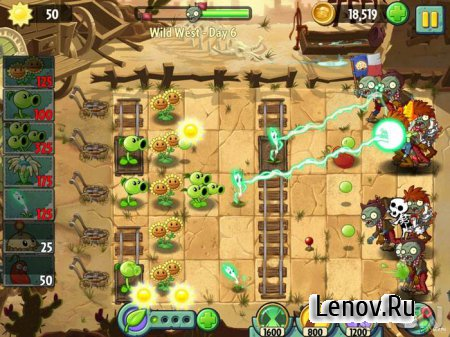 Plants vs. Zombies 2 v 8.0.1 Mod (Coins/Gems)