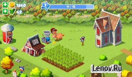 Green Farm 3 v 4.2.1 Мод (много денег)