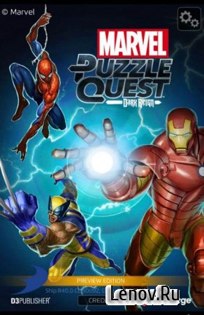 MARVEL Puzzle Quest: Join the Super Hero Battle! v 202.528383 Мод (много денег)
