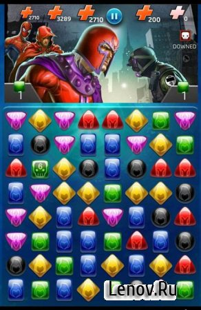 Marvel Puzzle Quest Dark Reign v 176.478835 (Mod Money)