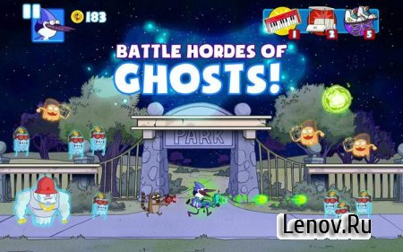Ghost Toasters - Regular Show v 1.0