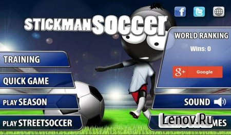 Stickman Soccer - Classic v 3.0 Мод (много денег)