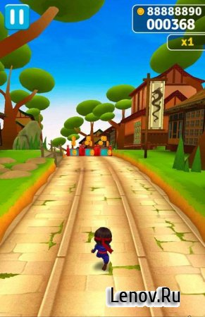 Ninja Kid Run - Free Fun Game (обновлено v 1.2.9) (все разблокированно и много денег)