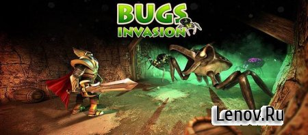 Bugs Invasion 3D v 1.3 + Мод