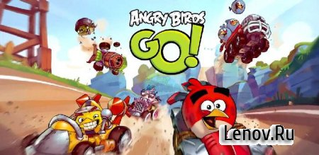 Angry Birds Go! v 2.9.1 (Mod Money/Unlocked)
