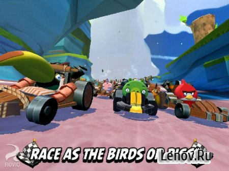 Angry Birds Go! v 2.9.2 (Mod Money/Unlocked)