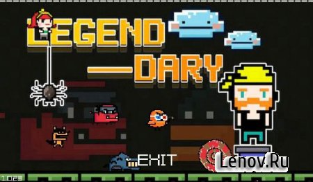Legend Dary F (обновлено v 1.8.01) Мод (много денег)