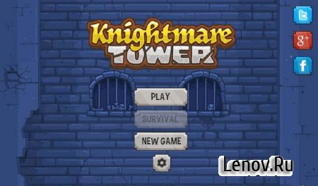 Knightmare Tower (обновлено v 1.5.2) (Full) + Mod