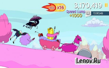 Ski Safari: Adventure Time (обновлено v 1.5.2) (Mod Money)