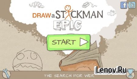 Draw a Stickman EPIC (обновлено v 1.4.3.113) Mod (Unlocked)
