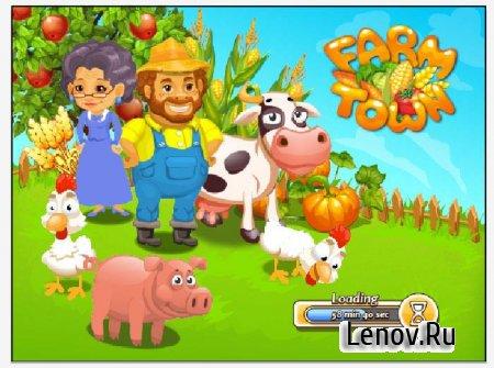 Farm Town: Happy Farming Day v 3.26 Мод (бесконечные алмазы и золото)