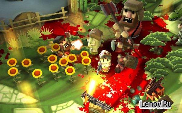 скачать игры на андроид minigore 2 zombies с бесконечными деньгами