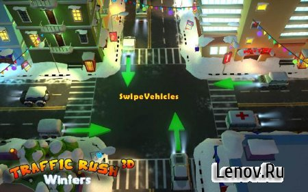 Traffic Rush Winters 3D v 1.0