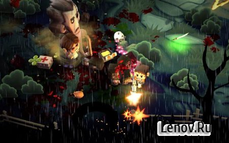 Minigore 2: Zombies (обновлено v 1.28) Mod (Free Shopping)