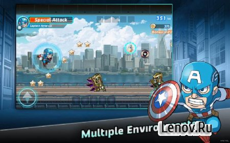 Marvel Run Jump Smash! (обновлено v 1.0.3)