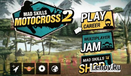 Mad Skills Motocross 2 v 2.8.4 Mod (Unlocked)