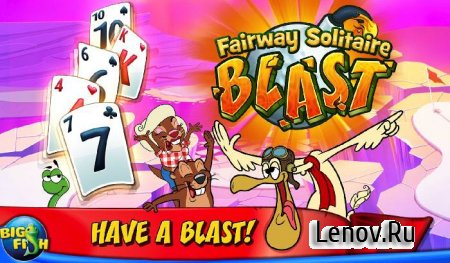 Fairway Solitaire Blast (обновлено v 2.8.33) Мод (много денег)