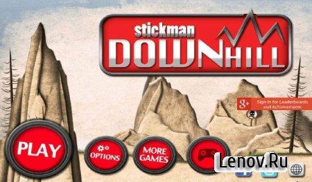 Stickman Downhill PRO (обновлено v 3.1) Mod (Unlocked)