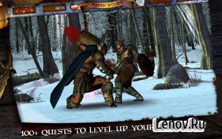 Infinite Warrior v 1.002 Мод (свободные покупки)