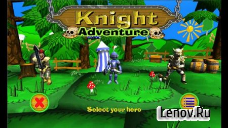 Knight Adventure (обновлено v 1.2.2) Mod (Unlimited Medals/Unlocked)