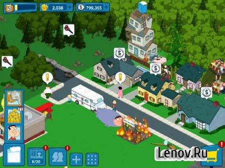 Family Guy: В Поисках Всякого v 1.80.0 Мод (свободные покупки)